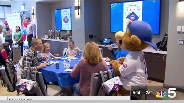 Families Win Trips to Cubs Spring Training