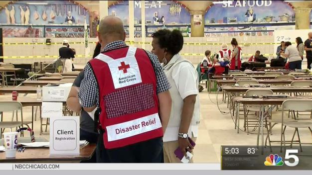 Red Cross Center Opens in Round Lake Beach