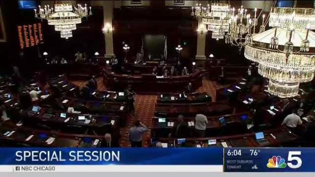 Springfield Special Sessions Begins Amid Continued Tensions