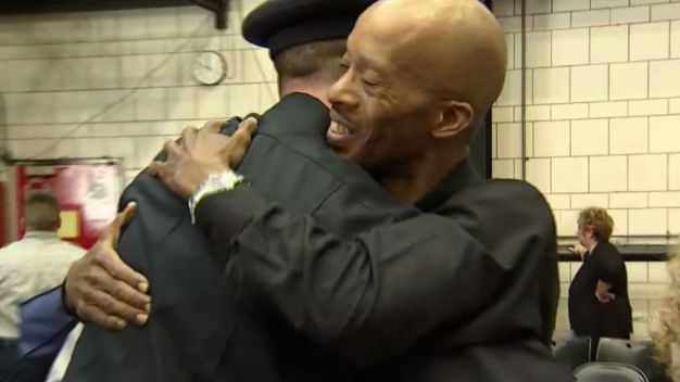 First Responders Reunite With Those They've Saved