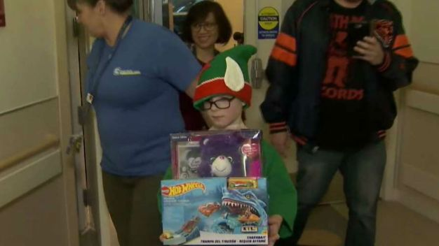 Local Boy Celebrates Giving Spirit of Holiday Season