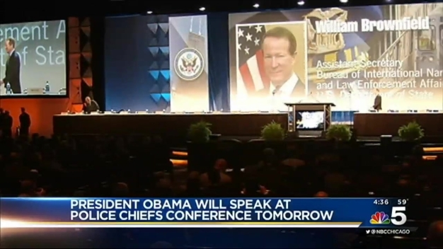 Obama to Speak at Police Chiefs Conference in Chicago