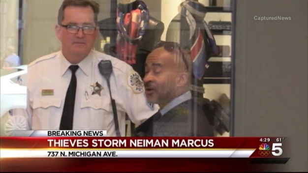 Thieves Target Magnificent Mile Neiman Marcus