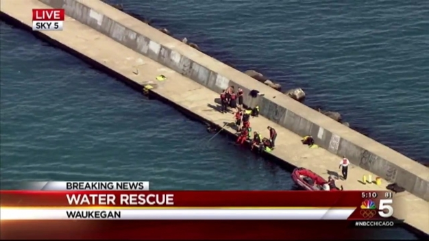 Coast Guard Searches for Teenager in Waukegan Harbor