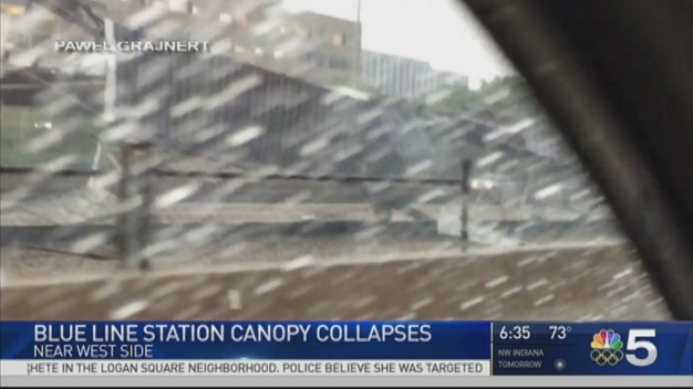 Blue Line Services Resumes Following Canopy Collapse