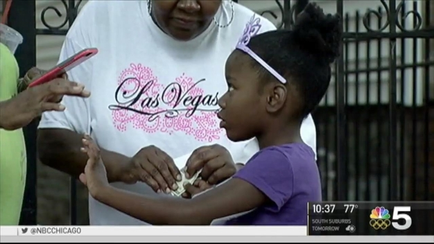 Young Girl Wounded in Shooting Returns Home