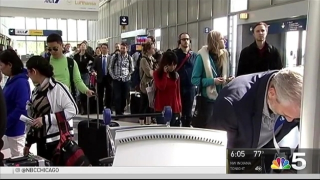 TSA Wait Lines Down to 10 Minutes, Experts Say