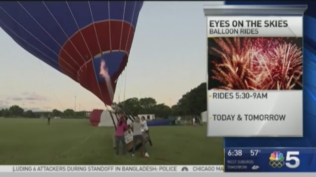 'Eyes to the Skies' Hot Air Balloon Festival Hits Lisle