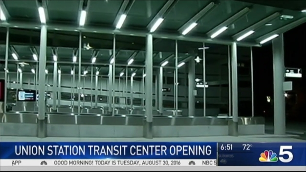 First Look at New Union Station Transit Center