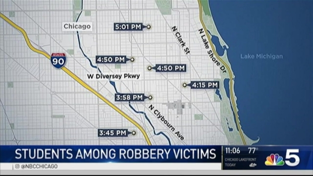 Students Among North Side Robbery Victims