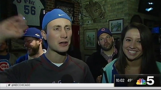 Chicago Cubs Fans React to Game 2 Win of World Series