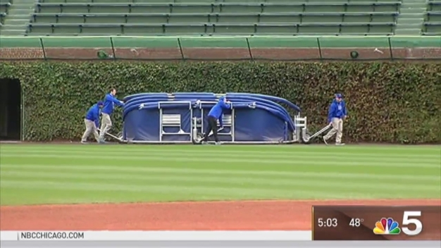 Behind the Scenes: Wrigley Staff Prepares for World Series