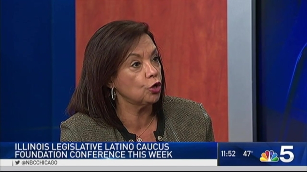 Senator Iris Martinez Talks Chicago Latino Foundation