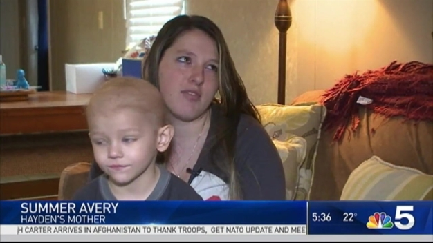 5-Year-Old Boy Battling Cancer Asks for Christmas Cards
