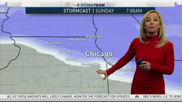 2-8 Inches of Snow to Accumulate in Chicago Area