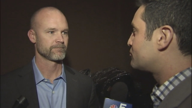 David Ross Talks About His New Role With the Cubs