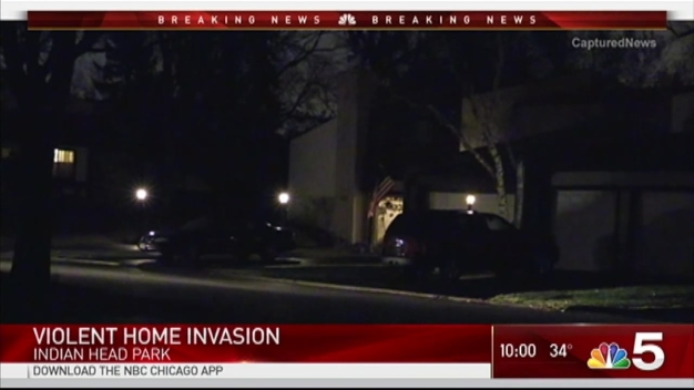 Police Respond to Reported Home Invasion in South Suburbs