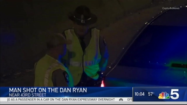 Man Shot While Driving on Dan Ryan Expressway