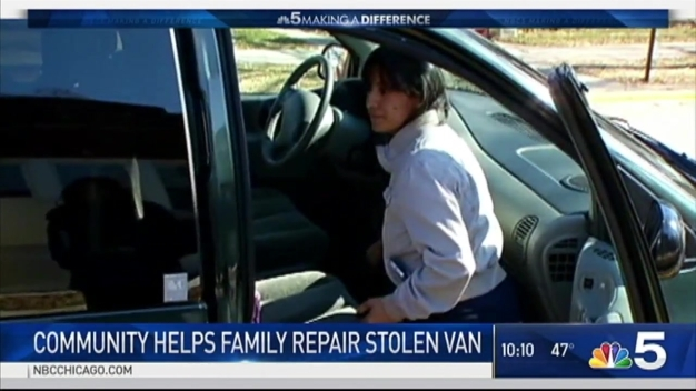Community Rallies After Family's Special Needs Van Stolen, Damaged