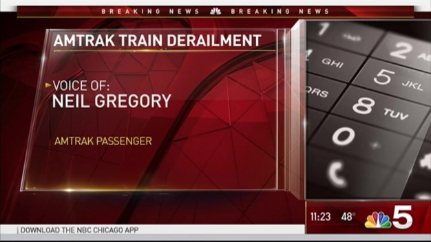 Amtrak Train Derails Near Chicago's Union Station
