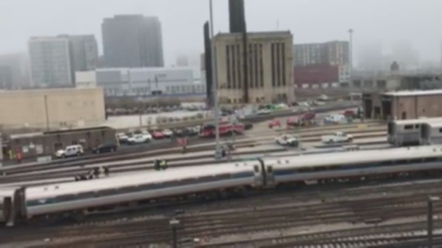 Video From Scene of Amtrak Derailment