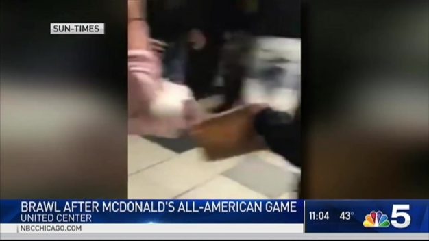 Video Shows Brawl Break Out at United Center After McDonald's All-American Game