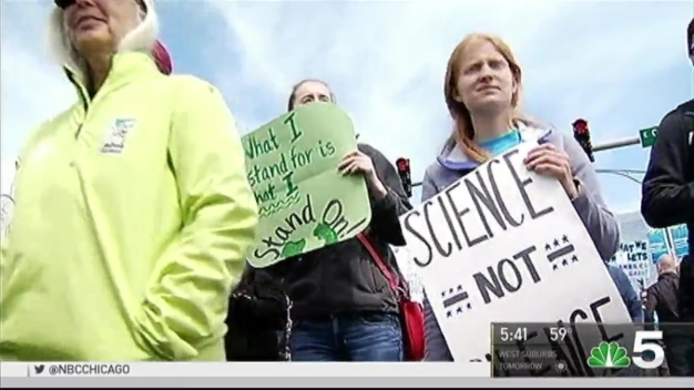 Thousands Join 'March for Science' in Chicago