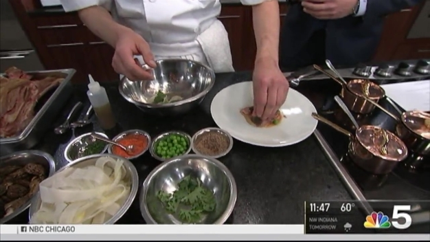 Chicago Gourmet Menu Previewed in NBC 5 Studio