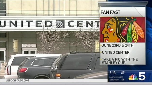 Blackhawks Announce Plans for NHL Draft Fan Fest