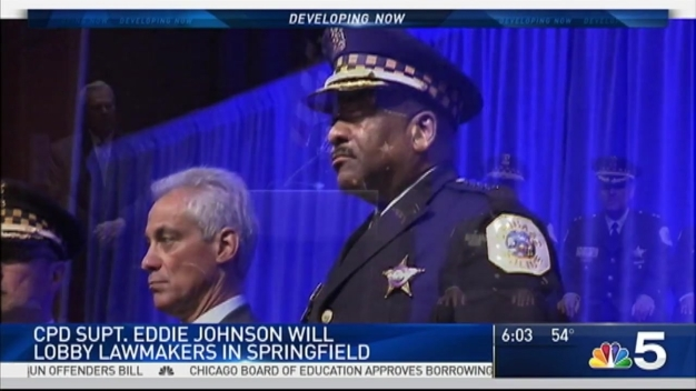 Supt. Johnson to Testify in Springfield, Push New Gun Bill