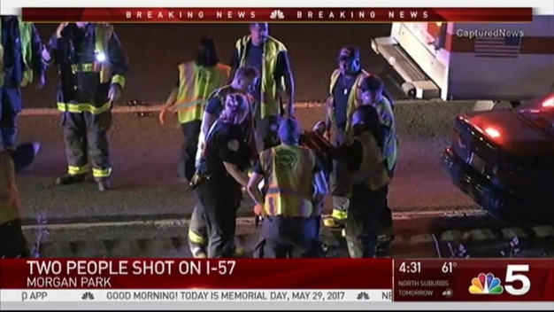 Two People Shot on Interstate 57, Police Say