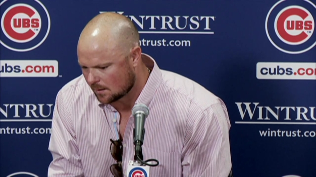 Lester Gets Emotional Speaking About Uncle
