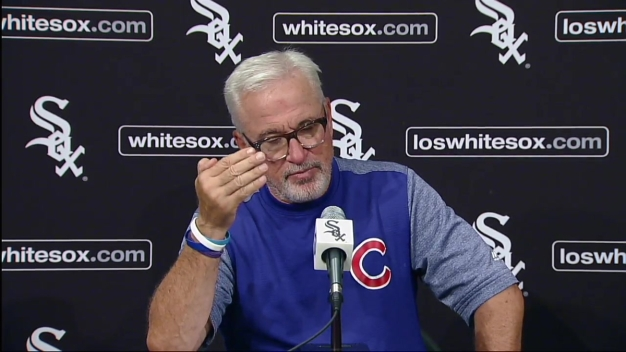 Joe Maddon Discusses Jake Arrieta's Strong Second Half