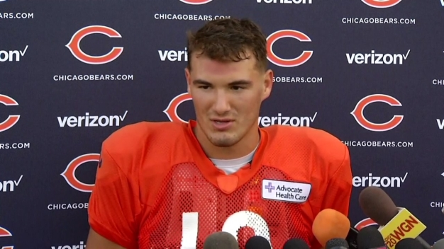 Trubisky Practices With First Team