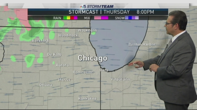 Forecast: Cloudy, Breezy & Cold