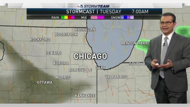 Forecast: Foggy, Damp & Cool Start