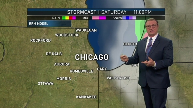 Friday Night Forecast: Rainy, Colder Start to Weekend