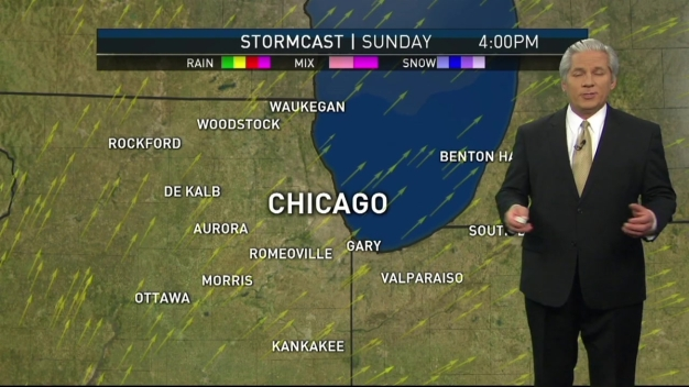 Sunny, Cool Weather on Tap for Sunday