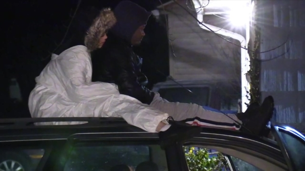 Couple Rescued from Roof of Vehicle After Water Main Break in Gary
