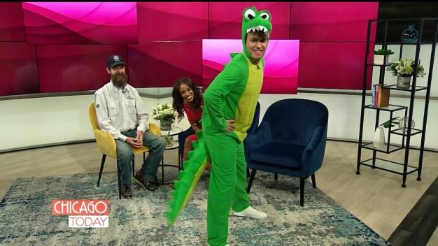 Matt Rodrigues Interviews Gator Robb in a Gator Suit