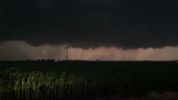 Video Shows Storm, Funnel Cloud in Troy Grove