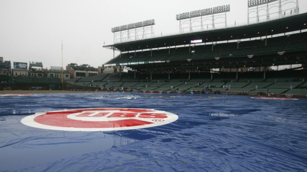 Cubs, Pirates Game Delayed Due to Stormy Weather