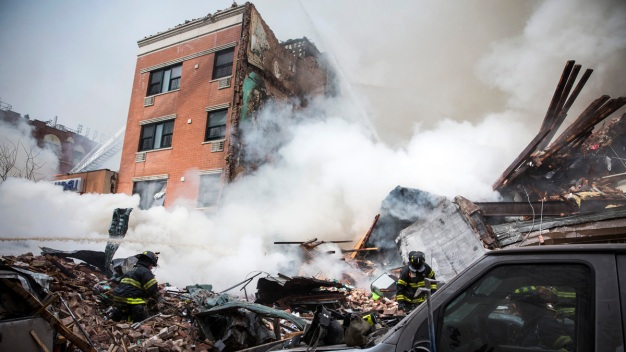 2 Dead, 18 Hurt After Gas Blast Levels NYC Buildings