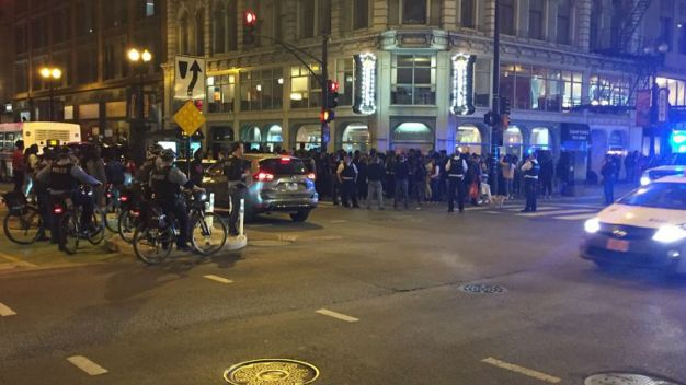 Cops Beef Up Mag Mile Presence After Teens Swarm Downtown