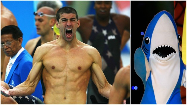 Phelps Defends Shark Week 'Race' Against Great White