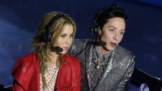 Tara Lipinski, Johnny Weir to Host Olympics Closing Ceremony