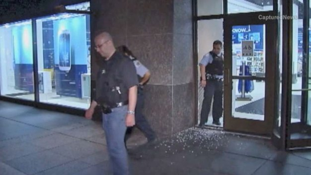 Phones Swiped in Hancock Center Smash-and-Grab