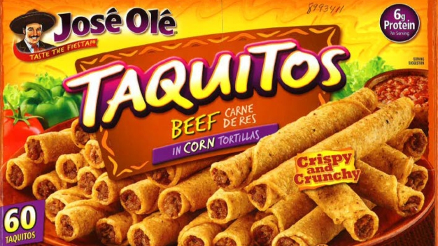 José Olé Taquitos Recalled for Possible Rubber, Plastic}