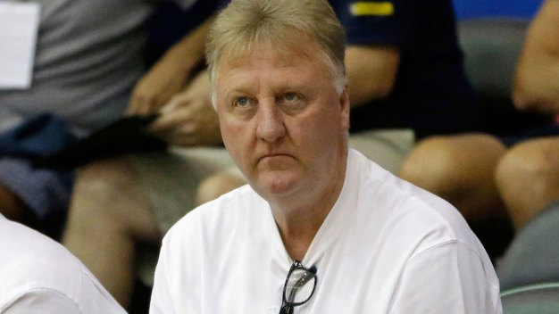 Larry Bird Steps Down as Pacers President: Source