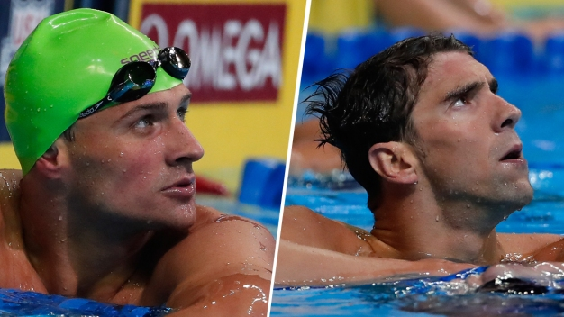Phelps, Lochte Set Up US Swim Trials Showdown
